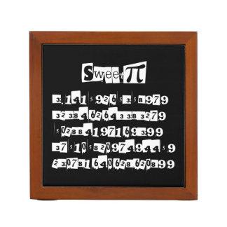 Sweet Pi Desk Organizer