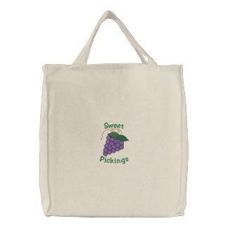 Sweet Pickings Purple Grapes Bunch Grocery Bags