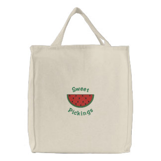 Sweet Pickings Watermelon Grocery Bags