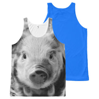 Sweet Piglet All-Over Print Tank Top