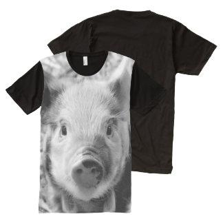 Sweet Piglet All-Over Print T-shirt
