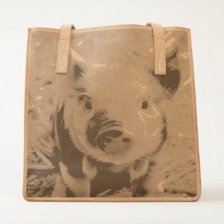 sweet piglet tote
