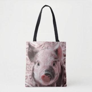 Sweet Piglet Tote Bag