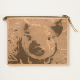 sweet piglet travel pouch