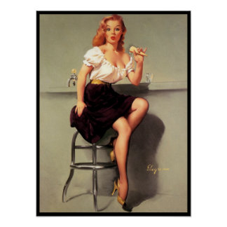 Sweet Pin Up Poster