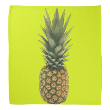 Beach Themed Sweet Pineapple Bandana