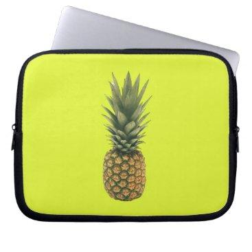 Beach Themed Sweet Pineapple Computer Sleeve
