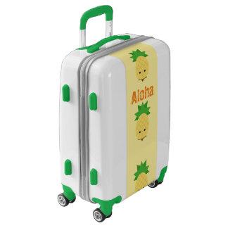 Sweet Pineapple luggage