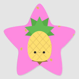 Sweet Pineapple Star Sticker