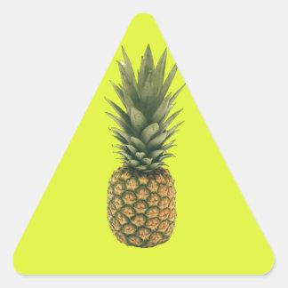 Sweet Pineapple Triangle Sticker