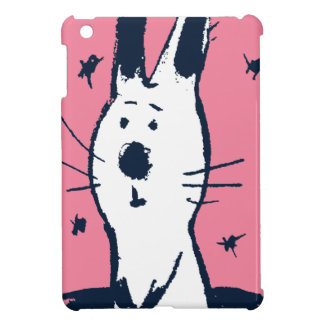 Sweet Pink and White Rabbit iPad Mini Case