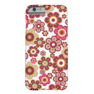 Sweet Pink Candy Daisies Flowers Girly Fun Casing Barely There iPhone 6 Case