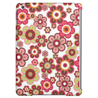 Sweet Pink Candy Daisies Flowers Girly Fun Casing Cover For iPad Air