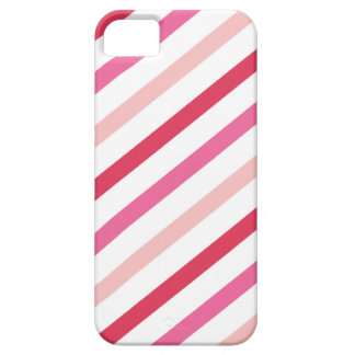 Sweet Pink Candy Stripes Pattern Valentine's Day iPhone 5 Cover