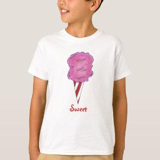 Sweet Pink Carnival Cotton Candy Spun Sugar Tee