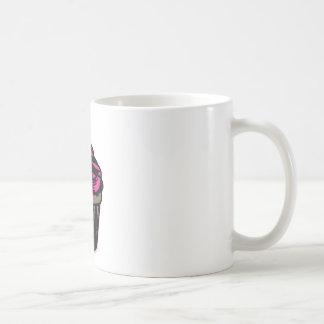 Sweet Pink Chocolate Cupcake Coffee Mug