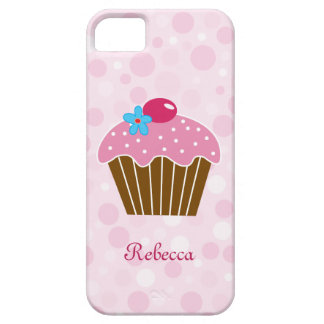 Sweet Pink Cupcake iPhone 5 Cases