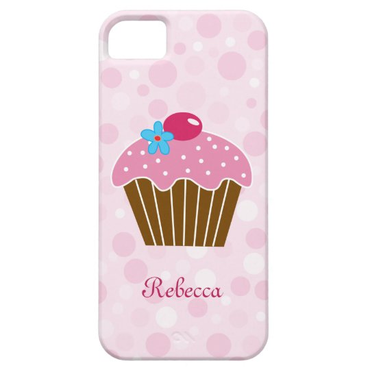 Sweet Pink Cupcake iPhone SE/5/5s Case