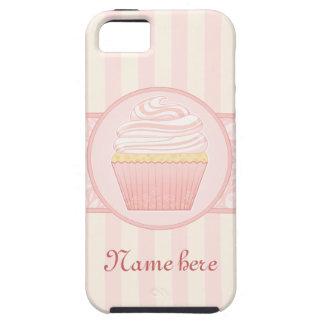 Sweet Pink Elegant Cupcake iPhone 5 Cover