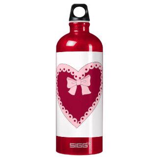 Sweet Pink Heart SIGG Traveler 1.0L Water Bottle