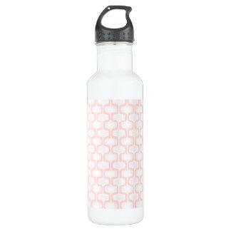Sweet Pink Pattern Water Bottle