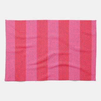 Sweet Pink & Pink Stripes Towels