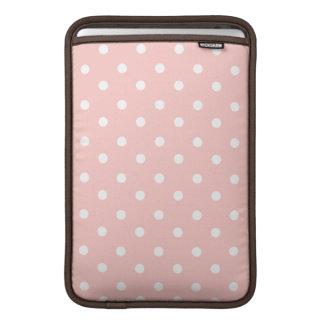 Sweet Pink Polka Dots MacBook Air Sleeves