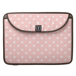Sweet Pink Polka Dots MacBook Pro Sleeve