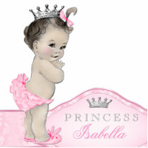 Sweet Pink Princess Baby Girl Statuette