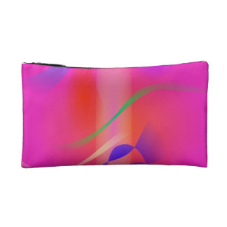 Sweet Pink Rain Makeup Bags
