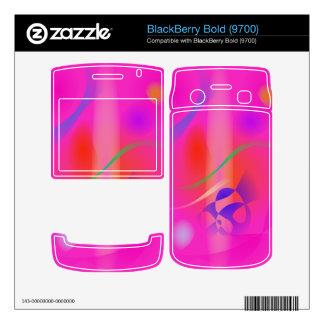 Sweet Pink Rain BlackBerry Decal