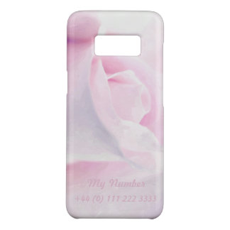 Sweet Pink Rose, floral watercolor, My cellphone Case-Mate Samsung Galaxy S8 Case