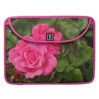 Sweet Pink Roses MacBook Pro Sleeve