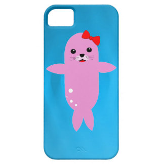 Sweet pink seal iPhone SE/5/5s case