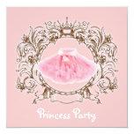 Sweet Pink Tutu Princess Birthday Party invitation