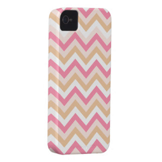 Sweet Pink Zig Zag Pattern iPhone Case iPhone 4 Cases