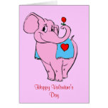 Sweet Pinky Valentines Card