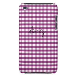 Sweet Plum Customizable iPod Case-Mate Case
