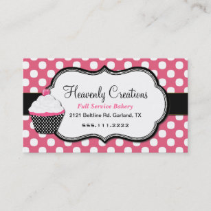 Home Bakery Business Cards Templates Zazzle