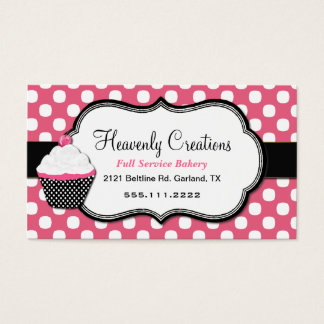 Cupcake Business Cards, 3900+ Cupcake Business Card Templates