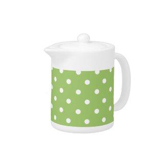 Sweet Polka Dots teapot
