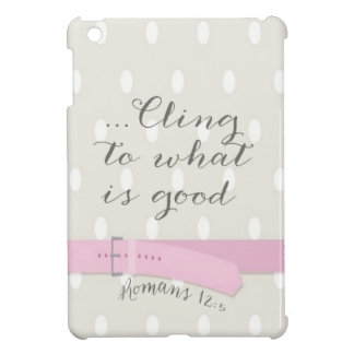 Sweet Polkadot w/Belt - Bible Verse/iPad Mini Case iPad Mini Cases
