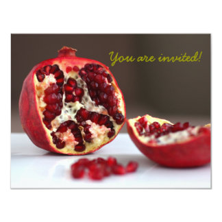 Sweet POM Pomegranate Collection Invitation