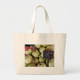 Sweet pomegranates with Arabic writing Canvas Bag
