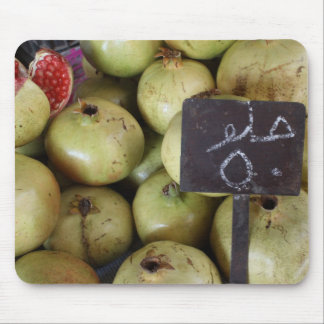 Sweet pomegranates with Arabic writing Mouse Pad
