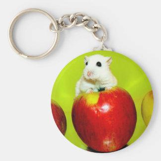 Sweet Pompon Keychain