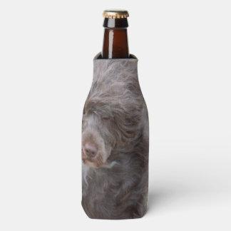 Sweet Portuguese Water Dog Bottle Cooler