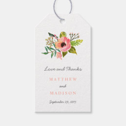 Sweet Posie | Wedding Gift Tags