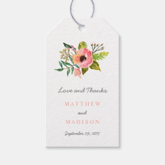 Sweet Posie | Wedding Gift Tags Pack Of Gift Tags