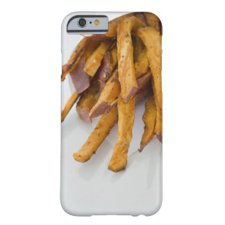Sweet Potato fries in paper bag, close up, Barely There iPhone 6 Case
